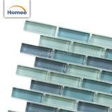 Diseño hermoso mosaico de vidrio de color de mezcla de impresión
