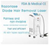 承認されるAleksandra 755nmのダイオードレーザーの毛の取り外し機械FDA