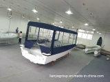 Crogioli di Panga della vetroresina della barca di passeggero della vetroresina di Liya 7.6m da vendere