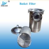 Tuyau en acier inoxydable de filtre à eau de mer Panier
