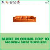 Sofà nordico del cuoio di disegno moderno della mobilia del salone