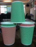 Doble Capa de alta calidad de la Copa de papel personalizados para la bebida caliente