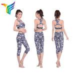 Женщин фитнес-верхней части бака брюки для занятий йогой настроить йога износа