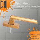 Подгонянное вспомогательное оборудование ручки двери заливки формы цинка и квадратная ручка вала