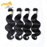卸し売り厚く、健全な端のバージンのペルーの毛のよこ糸