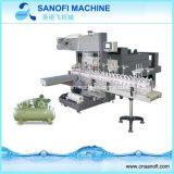 Petite machine en plastique semi automatique d'emballage en papier rétrécissable de la chaleur de bouteille