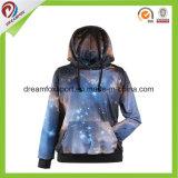 Vêtements de sport unisexes faits sur commande sublimés par teinture Hoodies