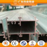 Profilo di alluminio 6063 T5 per la finestra con superficie anodizzata