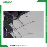 3 étalages clair de bracelets/bracelets de rangée de l'acrylique