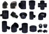 O plástico de alta pressão tubos de água de pe as conexões de HDPE