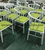 Производители продают отель мебелью из кованого железа, стульями и креслами для отдыха, его творческие кресло Председателя Африканского Рога (M-X3326)