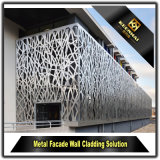 Polvo exterior perforada de aluminio recubierto de paneles de pared para decorar