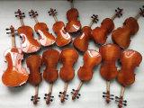 Violino de Teka Chinrest no caso do violino da fábrica do instrumento musical