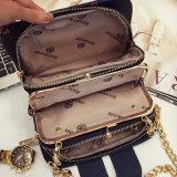 Bolsas de moda coreano Saco a tiracolo Ombro Celular bag bolsa quadrada pequena do pacote de pacote