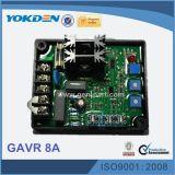 Régulateur de tension automatique sans frottoir de Gavr 8A de générateur
