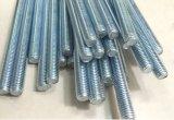 Углеродистая сталь стержня с резьбой оцинкованный DIN975 DIN976b резьбовой стержень резьбовой бар