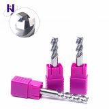 4*12*4*50 Solid Carbide 3 flûtes fin Mills pour l'aluminium de haute qualité et des prix compétitifs