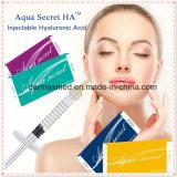 Llenador secreto del Facial del ácido hialurónico del Aqua