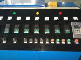 Dos tornillos de salida de la gran máquina de reciclaje de PE