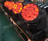 Bienen-Auge des LED-bewegliches Kopf-19X15W RGBW mit lautem Summen