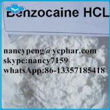 Het lokale Witte Poeder Benzocaine CAS 94-09-7 van het Verdovingsmiddel voor de Moordenaar van de Pijn