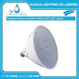 AC12V/12V/220V E27 LED PAR56 bajo el agua de la luz de la Piscina