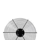 Het pvc Gegalvaniseerde Chroom Gelaste Net van de Ventilator van het Traliewerk van de Draad