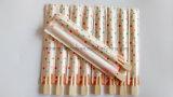 Половина бумажную упаковку бамбуковыми палочками