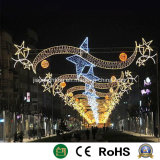 Iluminación decorativa de la calle de la luz de la decoración de Navidad