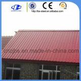 Строительство Стальной материал Prepainted оцинкованной стали листа крыши