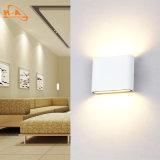 Luz de interior blanca de aluminio de la pared del diseño 12W de la manera de las ventas de la fábrica