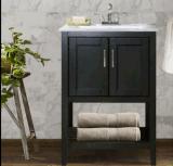 Vanité simple de salle de bains de bassin
