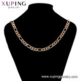 44753 Fashion Big plaqué or Bijoux en alliage métallique hommes LONG NECKLACE chaîne