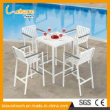 Jeu de barres en aluminium moderne de plein air Garden Hotel Accueil Loisirs Birsto Table et chaise meubles de patio
