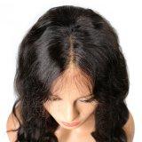 2017 고품질 흑체 파 합성 머리 가발