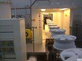 Máquina de pintura a pó e máquina de pintura por pulverização.