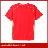 O Short da manufatura da fábrica de Guangzhou Sleeves o fabricante do t-shirt dos homens (R102)
