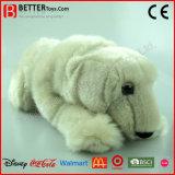 Zachte Stuk speelgoed van de Ijsbeer van de Pluche ASTM het Realistische Gevulde Dierlijke voor Jonge geitjes/Kinderen