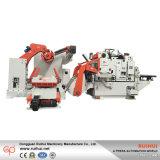 3 in 1 MetallplattenFlattener u. Nc-Servozufuhr mit Decoiler Maschine für dick