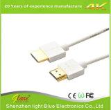Wholesales 24K Gold в полосе частот 1,4/2.0V кабель HDMI 1080P и 3D, PS4