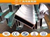 Weiye Marken-Flügelfenster-Aluminiumfenster-Profile anodisierte Oberfläche
