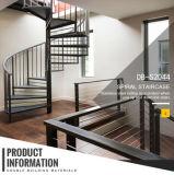 Внутри или вне помещений углеродистой стали спиральной лестницей