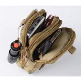 [أوتدوور سبورت] تكتيكيّ [مولّ] وسخ حزمة حقيبة عسكريّة مع [سلّ فون] قراب مسدّس