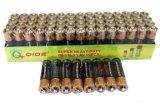R6 de carbono de 1,5V AA de la batería de Zinc en seco con celdas de batería Batería de exportación
