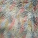 Stof van het Bont van het Bont van de Stapel van het Bont van het Bont van de Stapel van de jacquard de Hoge Valse Lange Kunstmatige met Kleuren