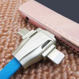 이동 전화를 위한 1개의 다중 철회 가능한 USB 비용을 부과 케이블에 대하여 3