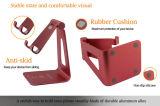 Goed Tribune van de Houder van het Bureau van de Tablet van de Telefoon van Ajustable van de Kleur van het Metaal van het Aluminium van de Verkoop de Gouden Mobiele voor Slimme Telefoon