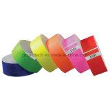 Personnalisé un bracelet de papier de bande de Tyvek d'IDENTIFICATION RF d'utilisation de temps