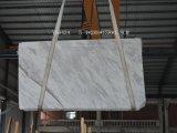 Polidos Volakas lajes de mármore branco azulejos e pisos em mármore fachada-&Bancada