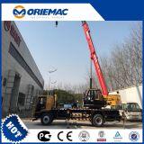 Sany Stc250s 25 톤 긴 붐 트럭 기중기 오두막